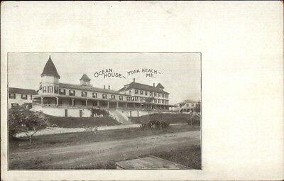 York Beach ME Ocean House c1905 UDB Postcard