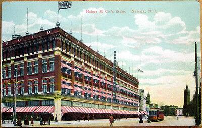1908 Postcard: Hahne & Company's Store, Newark, New Jersey NJ - Party Stores Nj