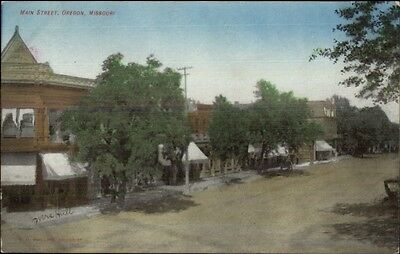 Oregon Mo Missouri Main Street C1910 Postcard
