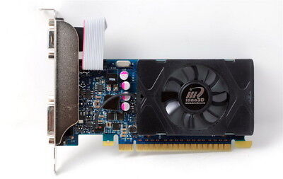 Nvidia Geforce Inno3d Video Graphics Card 2 Gb Pcie Windows 10  7 8 Low Profile