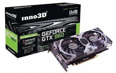 Inno3D NVIDIA GeForce GTX 970 OC 4GB DDR5 Overclocked Video graphics Credit card 4K DP