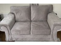 3 and 2 seater sofa with foot stool