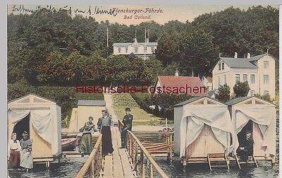 (111470) AK Flensburger Föhrde, Bad Kollund, Kollund Strand 1908