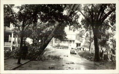 Wakefield MA 1936 Storm Damage Lincoln St. Real Photo Postcard for sale  South Portland