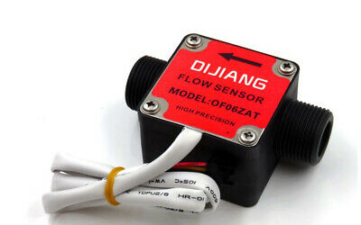 34oval Gear Plastic Flow Meter Sensor For Oil Milk Diesel Gasoline