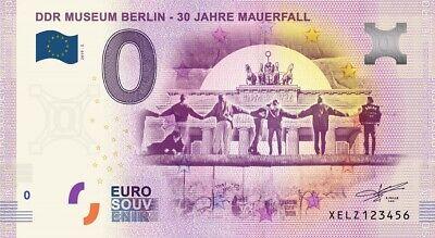 Billet Touristique 0 Euro - DDR Museum Berlin - 30 Jahre Mauerfall - 2019-6