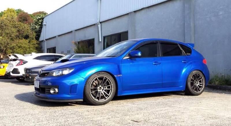 2009 Subaru Impreza Wrx Sti Spec R Hatchback Cars Vans Utes