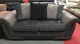 DFS large 2 seater pillow back sofa