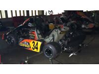 125cc Rotax race tuned kart