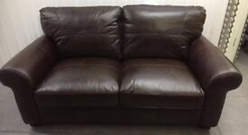 Ledbury leather 2.5 seater sofa new a/f RRP £449