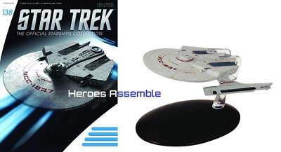 STAR TREK STARSHIPS COLLECTION #138 USS LANTREE EAGLEMOSS NEW (136 137)