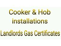 COOKER & HOB INSTALLATION. GAS ENGINEER. GAS FITTER
