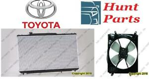Toyota Camry 1992 1993 1994 1995 1996 Ignition Key Assembly Lower Ball Joint Mud Guard Radiator Fan Support Front Rebar
