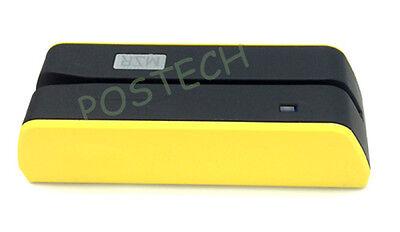 Magnetic Stripe Card Mini Msr09 X6 Encoderreader Writer Cmsre206605 Usb Yellow
