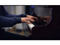 Piano lessons - all abilities and ages welcome.