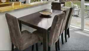 Table and 5 chairs Armstrong Creek Geelong City Preview
