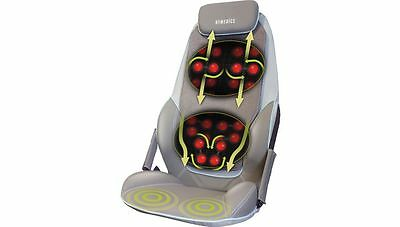 Nagelneu HOMEDICS CBS-1000 Max Shiatsu Rücken Massagegerät mit Wärme 14 - Shiatsu-rücken-massagegerät