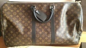 Louis Vuitton Macassar Monogram 55 Keepall Bandouliere Unisex Hampton Bayside Area Preview