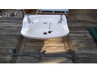 Vintage Bathroom Basin / Sink