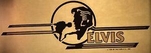Vintage-1981-Elvis-Presley-Iron-On-Transfer-King-of-Rock-Roll-RARE