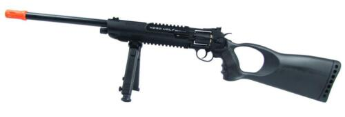 WG Herd Wolf Model Co2 Airsoft Revolver Rifle Toy Black New