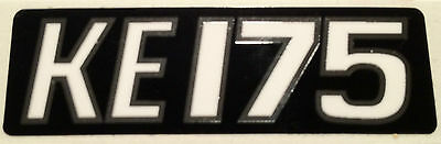 KAWASAKI KE175 SIDE PANEL OR EXHAUST DECAL