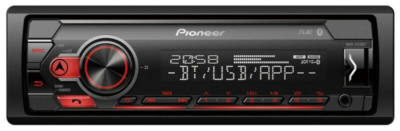 Pioneer MVH-S310BT MP3-Autoradio mit Bluetooth USB iPod AUX-IN