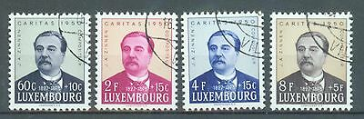 Luxembourg 1950 Welfare Week sg.539-42 used set of 4