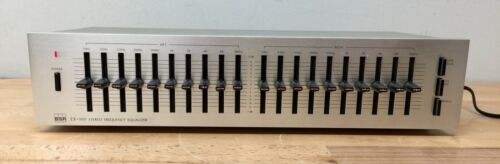 BSR EX-100 Ten Band Stereo Frequency Equalizer - Tested/Working.