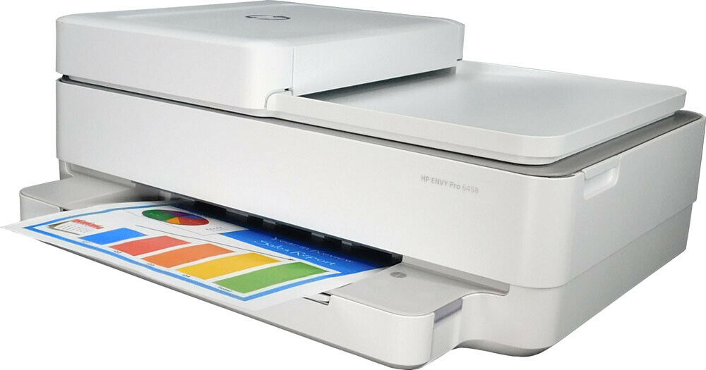 HP ENVY Pro 6458 All-in-One Printer New - Open Box