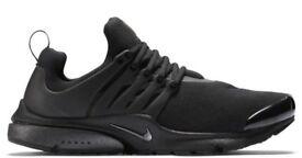 Nike Air Presto TP QS Fleece Pack 'Black' Size UK 6 7 8 9 10 11 12 13 Brand New