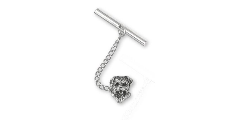 Norfolk Terrier Tie Tack Jewelry Sterling Silver Norfolk Terrier Charms And Norf