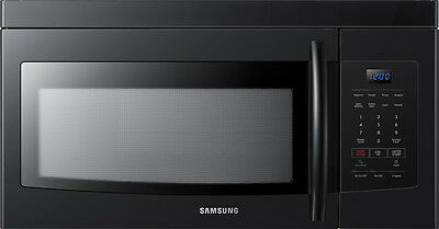 Samsung - 1.6 Cu. Ft. Over-the-Range Microwave - Black