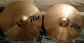 Paiste PST5 Hi Hats cymbals