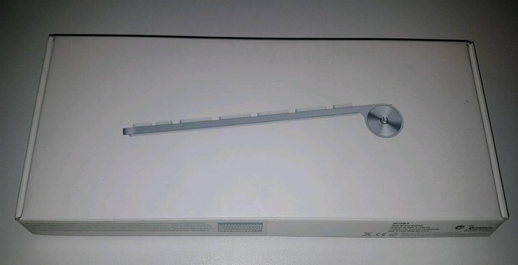 bda5ae6d612 APPLE MC184B/B Wireless Keyboard - White / Anodized Aluminium ...