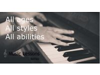 Piano Lessons in Belfast. Relaxed, friendly, professional.