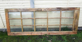 FREE Wooden door glazed panels. Gardening projec cold frame greenhouse St Denys Portwood Southampton