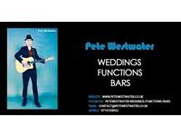 PROFESSIONAL WEDDING/FUNCTION/BAR SINGER