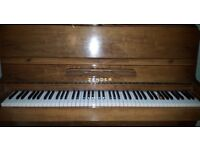 Zender Piano. Excellent condition, hardly used, beautiful tone