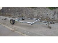 Large Galvanised Trailer Chassis Frame Ideal For Caravan Boat Car