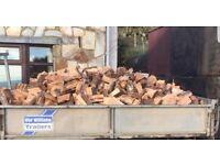 Hard wood Logs,fire wood bulk or Ton bags