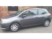Toyota Auris T2, 1.4, Petrol. Low milege, Full MOT sept 18, immaculate condition