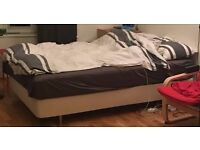 Double Bed IKEA comfortable / needs to go now