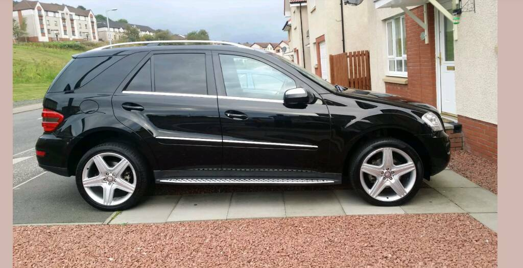 2008 58 plate mercedes ml 280 cdi sport auto 4matic 7g tronic low mileage in great condition. Black Bedroom Furniture Sets. Home Design Ideas