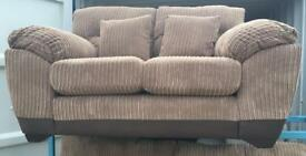 Dfs Nutmeg Cord 2 Seater Sofa (New ex display )