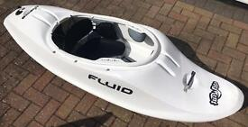 Fluid Element Surf Whitewater Playboat Kayak