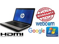 HP 630 Laptop Dualcore,,4GB,500GB Win7, OpenOffice, WEBCAM, HDMI