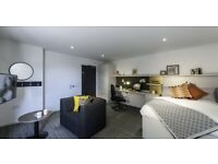STUDENT FLAT TO RENT IN EDINBURGH. STUDIOS WITH BED, PRIVATE BATHROOM, STUDY DESK AND CHAIR