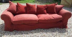 Dodges large four seater sofa