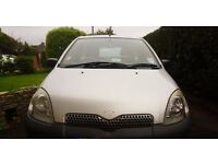 Toyota Yaris for sale for parts